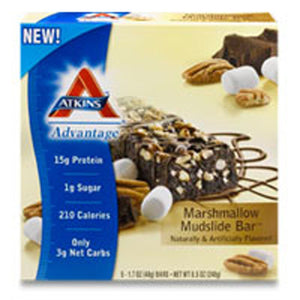 Advantage Bar Marshmallow Mud 5 PK by Atkins (2589009346645)