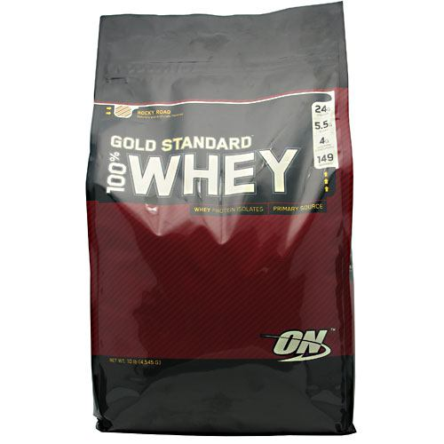 100% Whey Gold Rocky Road 10.37 lb by Optimum Nutrition