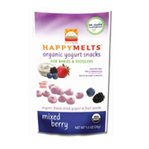 Happy Yogurt Melts Mixed Berry, 8 X 1 Oz by Happy Baby Food