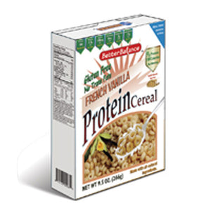 Protein Cereal French Vanilla (Case of 6) / 9.5 oz by Kay's Naturals