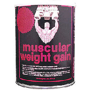 Muscular Weight Gain 2 Vanilla, 4.4 Lb by Healthy 'n Fit (2588884336725)