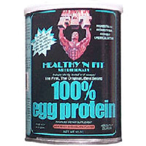 Egg Protein 100% CHOCOLATE, 12 OZ by Healthy 'n Fit (2588884500565)