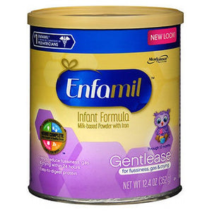Enfamil Gentlease Milk-Based Infant Formula Powder For Fussiness & Gas 12.4 oz by Enfamil