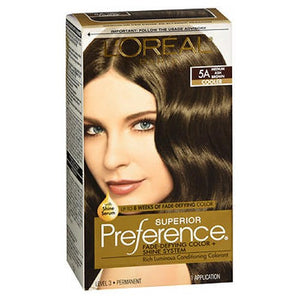 LOreal Superior Preference Hair Color Medium Ash Brown 1 each by L'oreal (2587422130261)