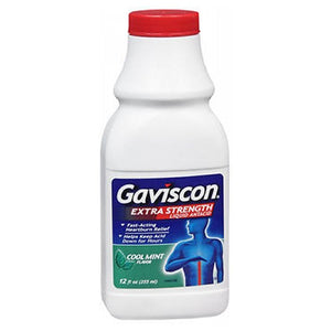 Gaviscon Liquid Extra Strength Cool Mint 12 oz by Abreva (2587424784469)