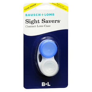 Bausch & Lomb Sight Savers Contact Lens Case 1 each by Bausch And Lomb