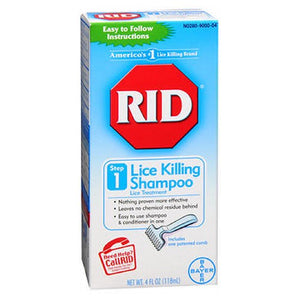 Rid Lice Killing Shampoo 4 oz by Rid (2587969912917)