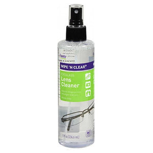 Flents Wipe 'N Clear Eyeglass Lens Cleaner 8 Oz by Flents
