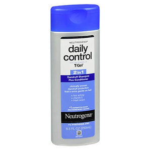 Neutrogena T/Gel Daily Control 2 In 1 Dandruff Shampoo Plus Conditioner 8.5 oz by Neutrogena (2587970797653)