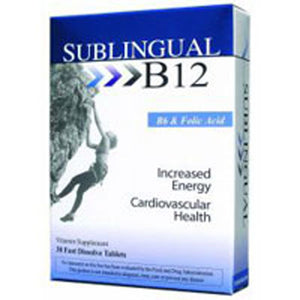 Sublingual B12 With B6 EA 1/30 TAB by Heaven Sent (2584133337173)