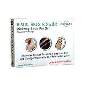 Purvana Hair Skin & Nails 30 Sgel by Heaven Sent (2584212734037)