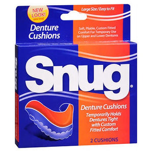 Snug Denture Cushions 2 each by Snug