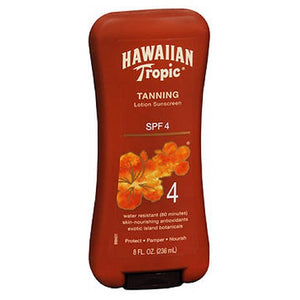 Hawaiian Tropic Dark Tanning Lotion With Spf 4 8 oz by Hawaiian Tropic (2587449032789)