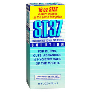S.T.37 St-37 Liquid Mouth Wash 16 oz by S.T.37 (2587977220181)