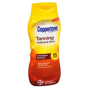Coppertone Tanning Lotion Spf 15 8 oz by Coppertone (2587978170453)