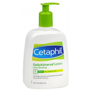 Cetaphil Dailyadvance Ultra Hydrating Lotion For Dry Sensitive Skin 16 oz by Cetaphil (2587979481173)