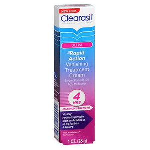 Clearasil Ultra Rapid Action Treatment Cream Vanishing 1 oz by Clearasil Ultra (2587979513941)