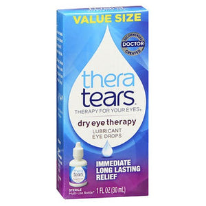 Thera Tears Lubricant Eye Drops 1 oz by Thera Tears (2587457945685)