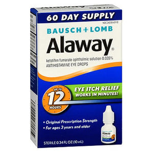 Bausch And Lomb Alaway Eye Itch Relief Drops 10 ml by Bausch And Lomb