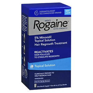 Rogaine Mens Extra Strength Hair Regrowth Treatment Unscented 2 oz by Rogaine (2587979907157)