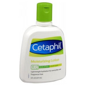 Cetaphil Moisturizing Lotion For All Skin Types Fragrance free 8 oz by Cetaphil (2587460206677)