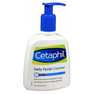 Cetaphil Daily Facial Cleanser For Normal To Oily Skin 8 oz by Cetaphil (2587464892501)