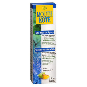 Mouth Kote Oral Moisturizer Spray For Dry Mouth And Throat 2 oz by Mouth Kote