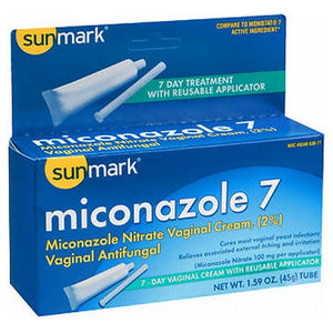 Sunmark Miconazole 7 Vaginal Antifungal Reusable Applicator 1.59 oz by Sunmark