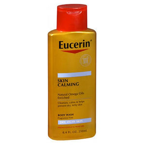 Eucerin Calming Body Wash Daily Shower Oil 8.4 oz by Eucerin (2587989246037)