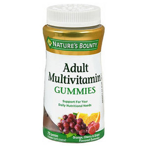 Natures Bounty Your Life Multi Adult Gummies 75 each by Nature's Bounty (2587990556757)