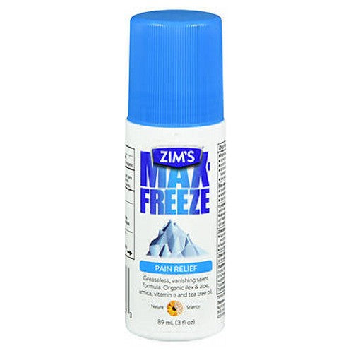 Max-Freeze Roll On Maximum Muscle And Joint Pain Relief Gel 3 oz by Max-Freeze