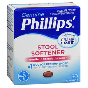 Phillips Stool Softener Liquid Gels 30 each by Phillips (2587491532885)