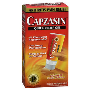 Capzasin Arthritis Quick Pain Relief Gel 1.5 oz by Capzasin (2587494809685)