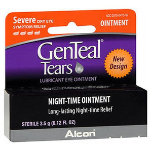 Genteal Pm Lubricant Eye Ointment 0.12 oz by Alcon