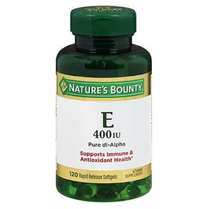 Nature's Bounty Vitamin E 120 caps by Nature's Bounty