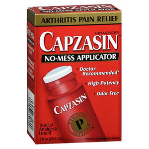 Capzasin Arthritis Pain Relief No-Mess Applicator 1 oz by Capzasin (2587994325077)