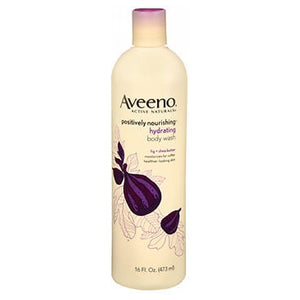 Aveeno Active Naturals Hydrating Positively Nourishing Body Wash Fig And Shea Butter 16 oz by Aveeno (2587500445781)