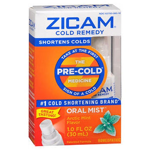 Zicam Cold Remedy Plus Oral Mist Arctic Mint 1 oz by Zicam (2587500773461)