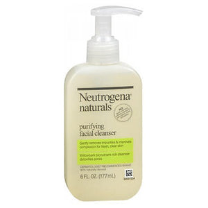 Neutrogena Naturals Purifying Facial Cleaner 6 oz by Neutrogena