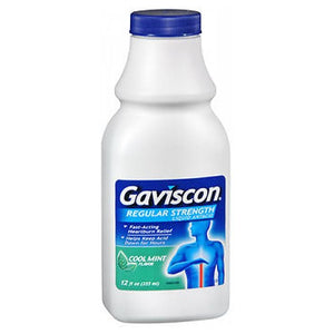 Gaviscon Liquid Regular Strength Cool Mint 12 oz by Gaviscon (2587999535189)