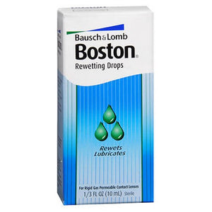 Bausch & Lomb Boston Rewettinging Drops For Contact Lenses 10 ml by Bausch And Lomb (2587509948501)