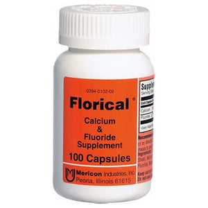 Florical Calcium And Fluoride Supplements Capsules 100 caps by Florical (2587510538325)