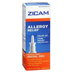 Zicam Allergy Relief Nasal Gel 0.5 oz by Zicam (2588001042517)