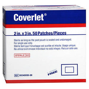 Jobst Elastic Patch Bandage 2 inch X 3 inch 50 ct by Bsn-Jobst