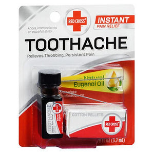 Red Cross Complete Medication Kit For Toothache 0.125 oz by Mentholatum (2587515617365)