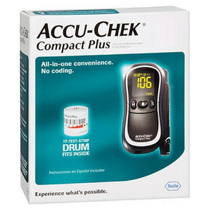 Accu-Chek Compact Plus Diabetes Monitoring Kit 1 kit by Accu-Chek (2588002648149)