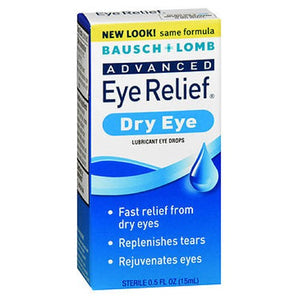 Bausch And Lomb Advanced Rejuvenation Lubricant Eye Drops 0.5 oz by Bausch And Lomb (2587521122389)