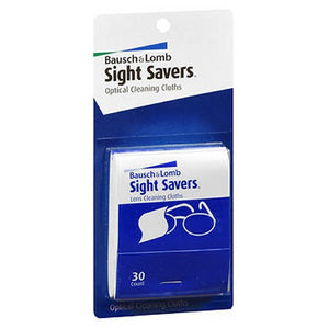 Bausch & Lomb Sight Savers Optical Cleaning Cloths 30 each by Bausch And Lomb