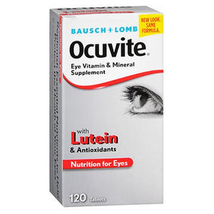 Bausch And Lomb Ocuvite Eye Vitamin & Mineral Supplement Tablets 120 tabs by Bausch And Lomb (2587524726869)