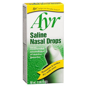 Ayr Saline Non Medicated Nasal Drops 50 ml by Ayr